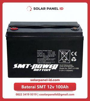 jual baterai vrla gel smt 12v 100ah solar cell tenaga surya murah surabaya
