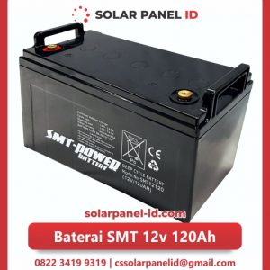 jual baterai vrla gel smt 12v 120ah solar cell tenaga surya murah