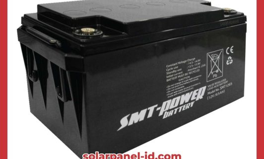 Baterai VRLA SMT Gel 12v 65Ah | Aki Samoto Deep Cycle Gel