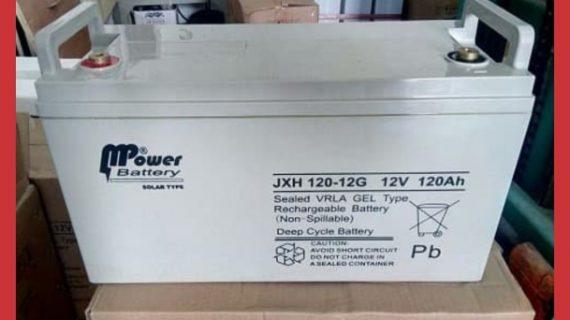 Baterai VRLA Gel Mpower 12v 120Ah