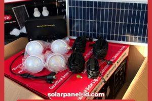 Lampu SEHEN 8wp 4 Lampu Bulbs Solar Cell