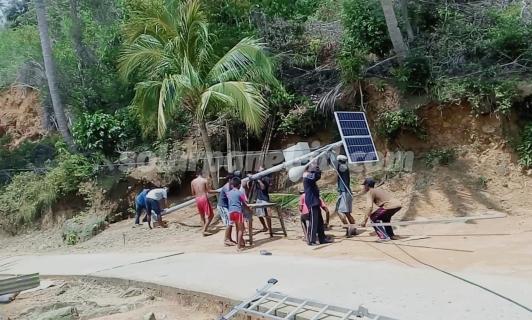 Harga PJU Tenaga Surya | Penerangan Jalan Umum PJU Solarcell Mamuju dan Sulawesi Barat