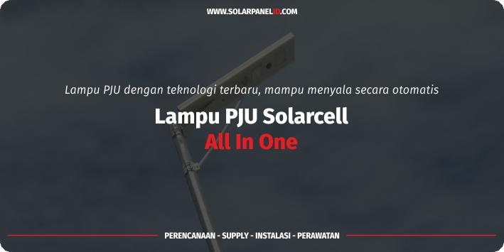 jual lampu pju solarcell all in one 30watt