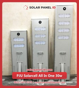 jual lampu pju tenaga surya all in one 30watt