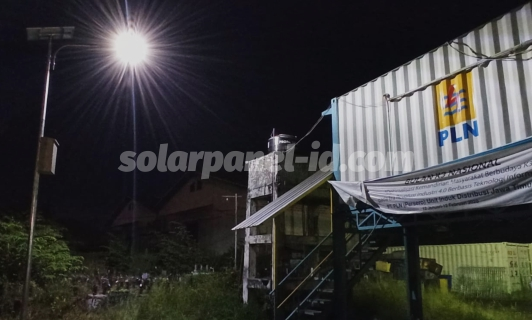 Daftar Harga Lampu PJU Solarcell Satu Set 2021