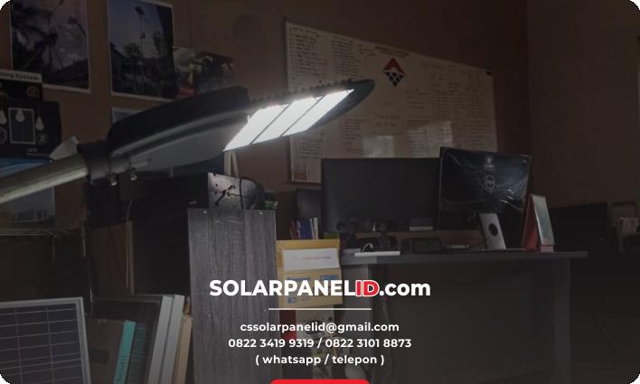 jual lampu pju solarcell 2in1 murah