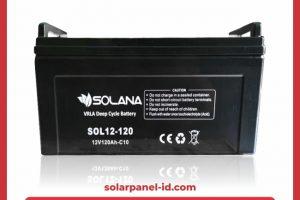 Baterai VRLA Solana 12v 120Ah