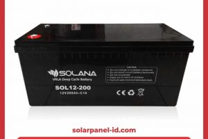 Baterai VRLA Solana 12v 200Ah