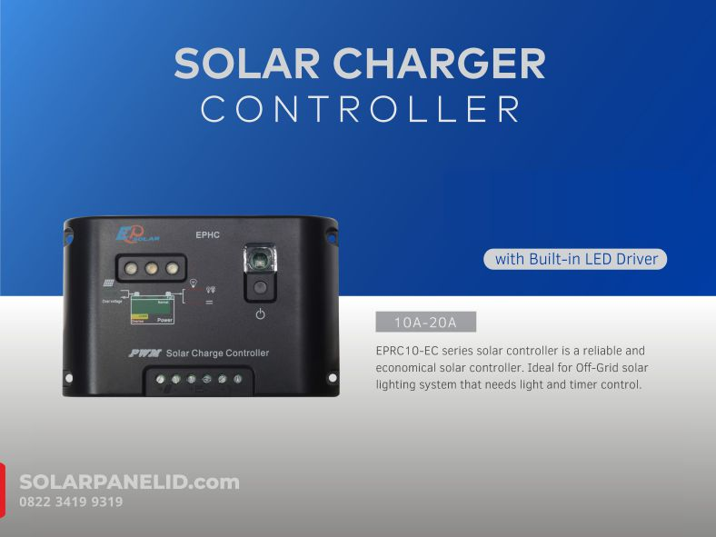 jual solar charge controller pwm murah