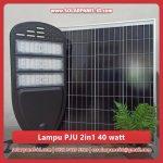 harga lampu jalan pju solarcell 2in1 40 watt murah