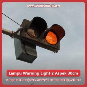 jual lampu hati hati jalan raya 2 aspek 30cm murah