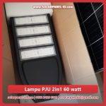 jual lampu jalan tenaga surya 2 in 1 60watt