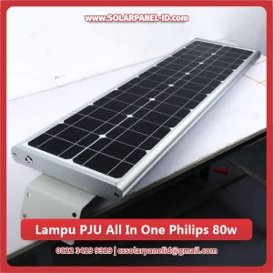 jual lampu pju all in one philips 80 watt murah