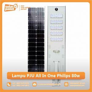 jual lampu pju all in one philips 80watt