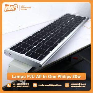jual lampu pju all in one philips 80watt murah