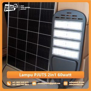 jual lampu pju tenaga surya 2in1 60 watt