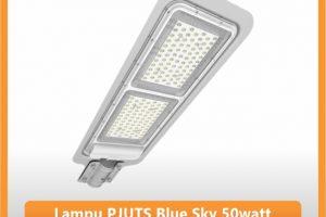 Lampu PJU Tenaga Surya Blue Sky 50 watt