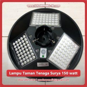 jual lampu taman tenaga surya 150 watt murah surabaya