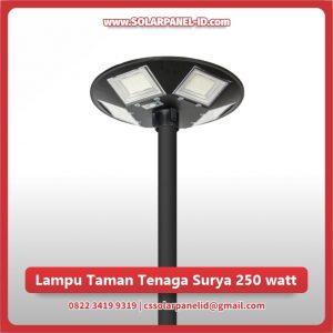 jual lampu taman tenaga surya 250 watt murah