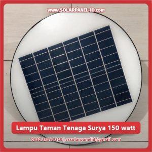jual lampu taman tenaga surya golde peach 150 watt murah