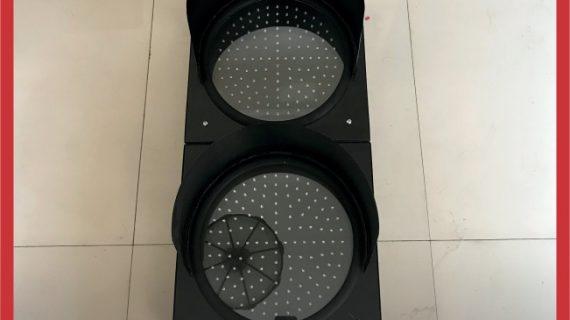 Lampu Hati-Hati / Warning Light Tenaga Surya 2 Aspek 30cm