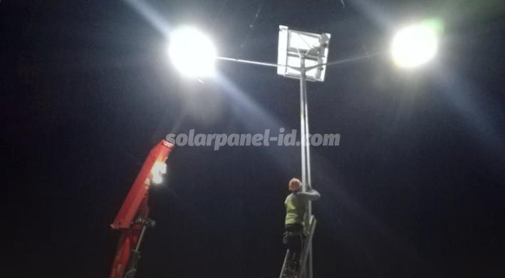 jual paket lampu penerangan jalan pju two in one 60 watt