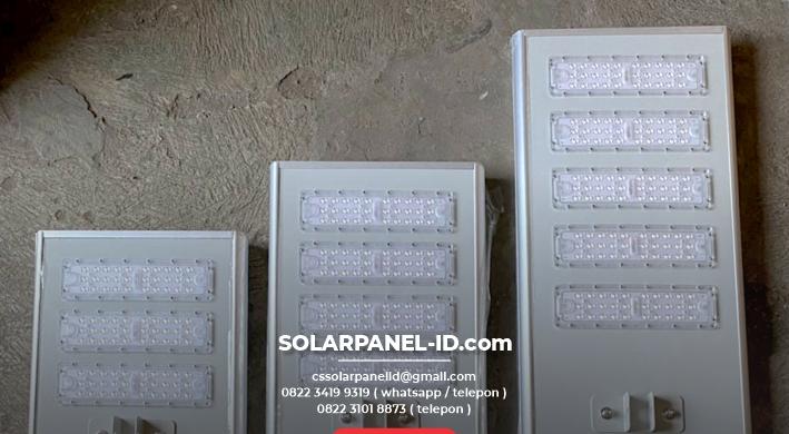 jual pju tenaga surya aio philips 100 watt murah
