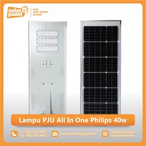 jual lampu pju all in one philips 40 watt