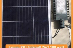 Lampu PJU Solarcell 2in1 100 watt