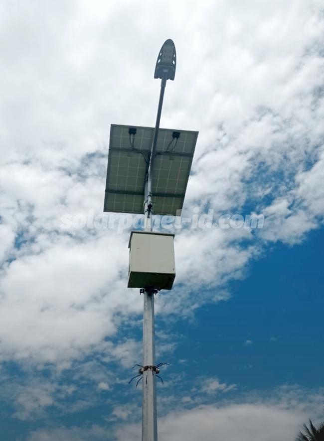 jual lampu pju tenaga surya 2in1 osram 60 watt murah