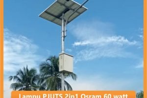 Lampu PJU Tenaga Surya 2in1 Osram 60watt SNI