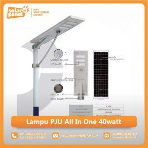 jual lampu pju all in one 40watt