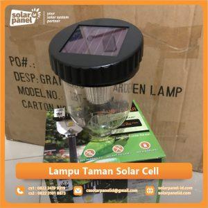 jual lampu taman solar cell
