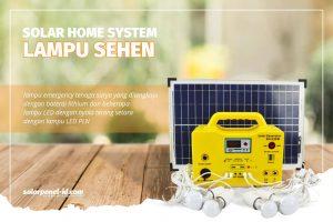Lampu Portabel Tenaga Surya | Lampu SEHEN Generator Terbaru 2021