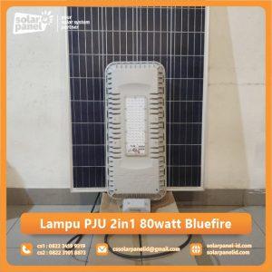 jual lampu pju 2in1 80 watt bluefire