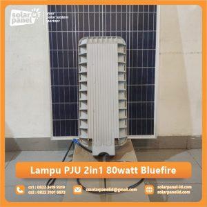 jual lampu pju 2in1 80 watt bluefire murah