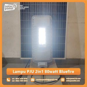 jual lampu pju 2in1 80 watt bluefire surabaya
