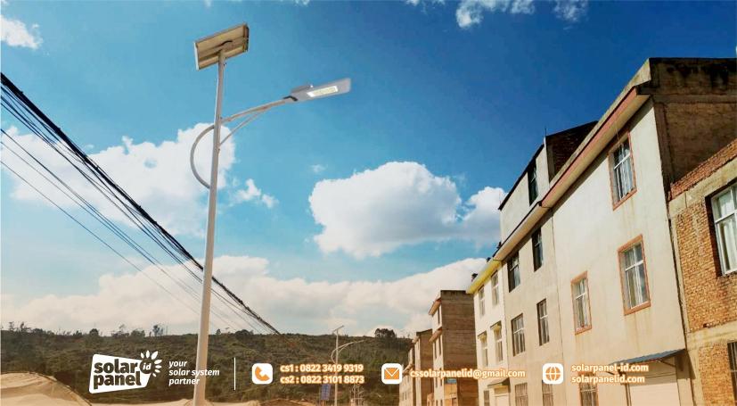 jual lampu pju solarcell 2in1 30watt