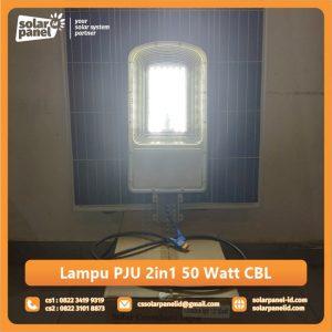 distributor lampu pju 2in1 50 watt crossbow light surabaya