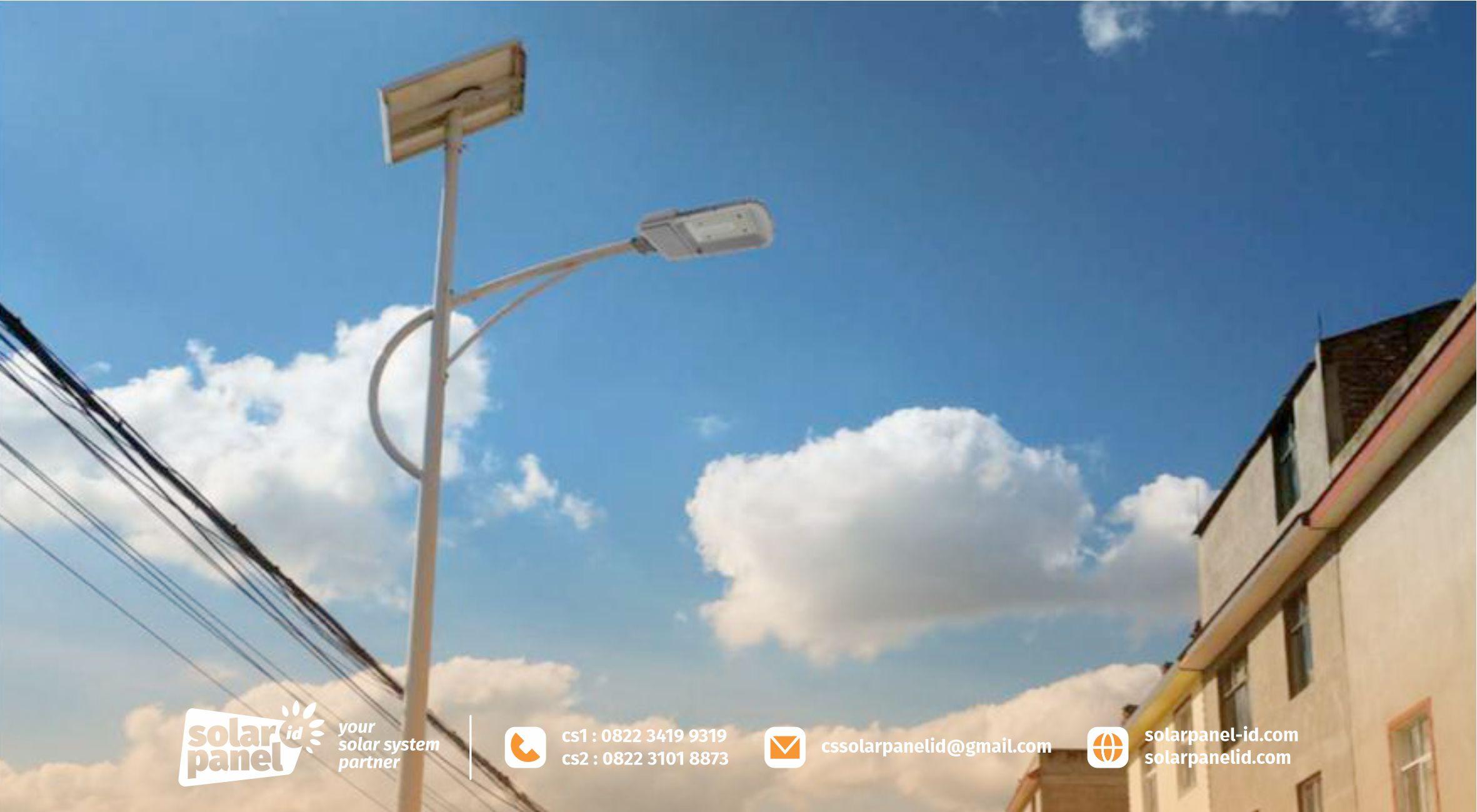 jual lampu pju 2in1 30 watt crossbow light satu set