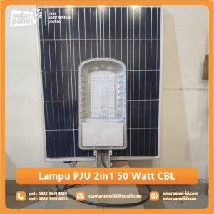 jual lampu pju 2in1 50 watt crossbow light bergaransi