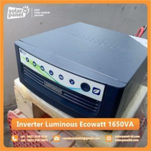 distributor inverter luminous ecowatt 1650 va surabaya