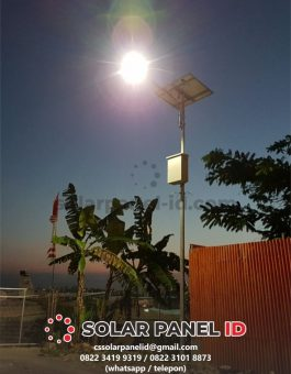 harga paket lampu jalan solarcell 30watt