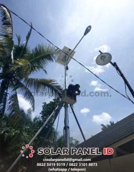 harga paket lampu jalan solarcell 40watt