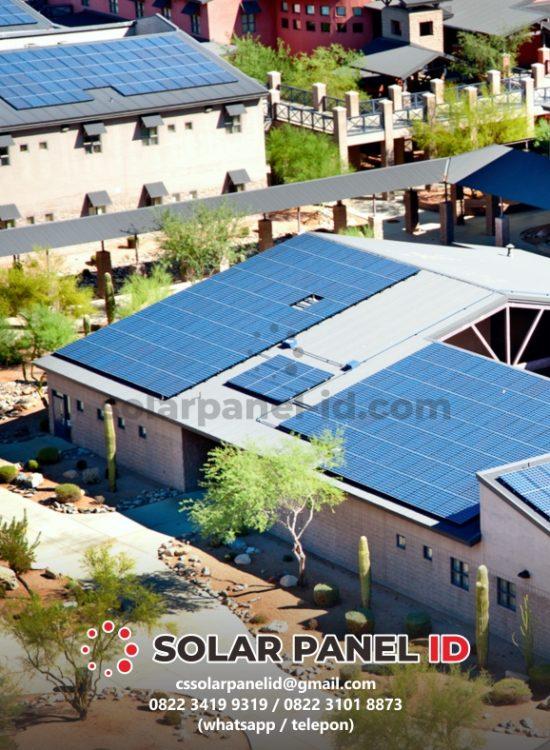 biaya pemasangan panel surya rumahan