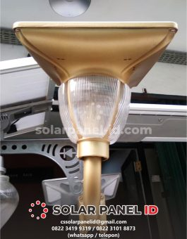 jual lampu taman tenaga surya 7 watt solarcell